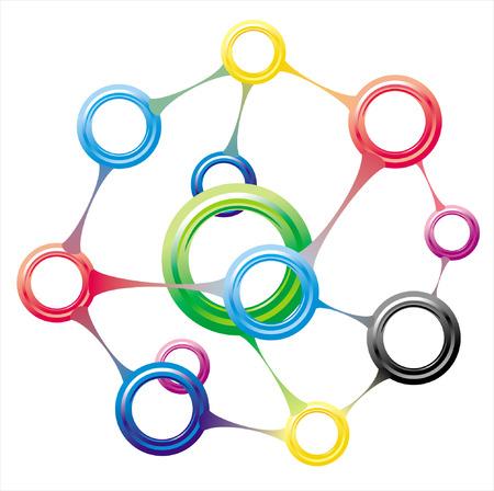 molecule Stock Vector - 8763650