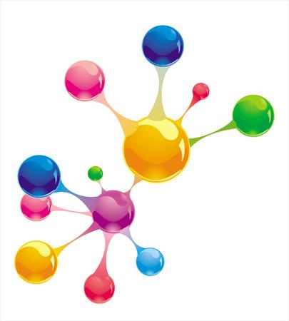 molecule Stock Vector - 8763644