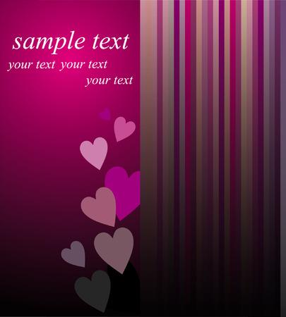 Love card Stock Vector - 8763674