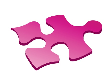 Background. Color puzzles for design Иллюстрация