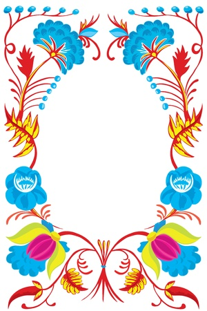 Design of a New Years card with colors. Vector