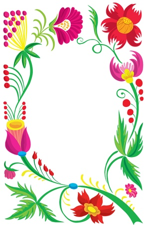 Background. Design of a beautiful flower pattern. Illustration