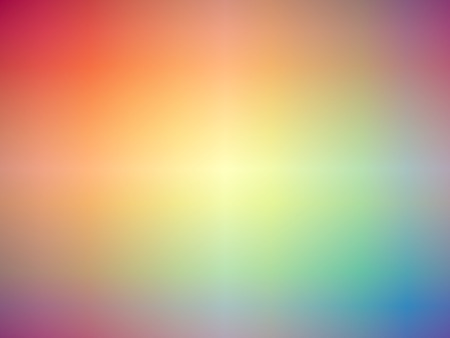 Gradient rainbow colored blurred background.
