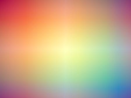 rainbow: Gradient rainbow colored blurred background.