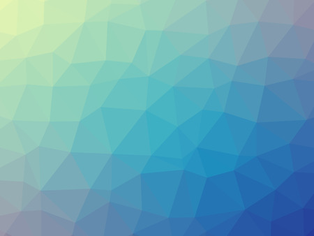 Blue green purple gradient triangle shaped background. 版權商用圖片