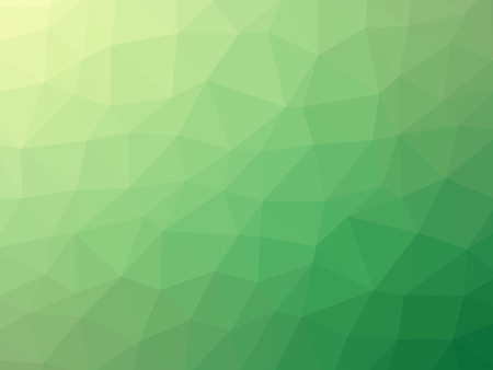 Green gradient polygon shaped background.