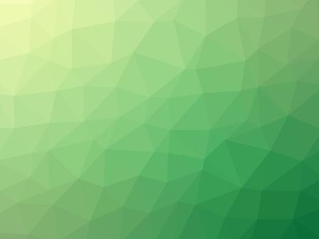 diversion: Polígono gradiente verde en forma de fondo.