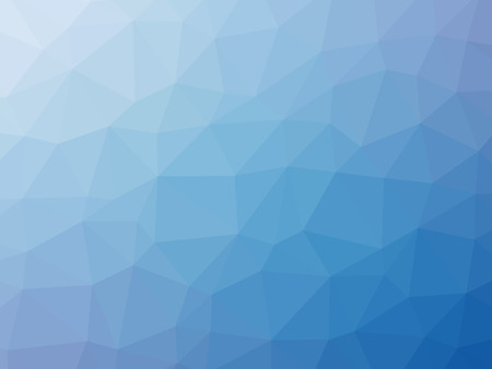 blue abstract: Blue gradient polygon shaped background. Stock Photo