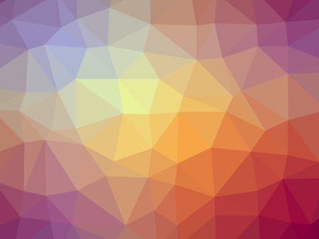 red yellow: Purple red yellow gradient polygon shaped background.