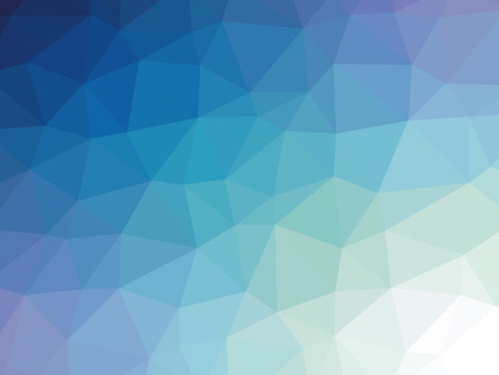Blue gradient polygon shaped background. 版權商用圖片 - 50053804