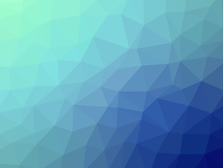gradient: Teal blue gradient polygon shaped background.