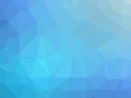 gradient: Turquoise blue gradient polygon shaped background.