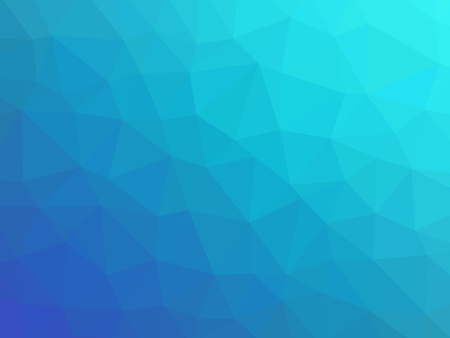 polychromatic: Blue teal gradient polygon shaped background. Stock Photo