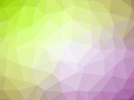 polychromatic: Green purple gradient polygon shaped background.
