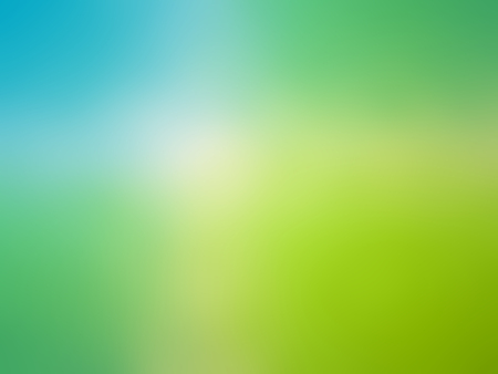 Abstract gradient blue green colored blurred background Stock Photo