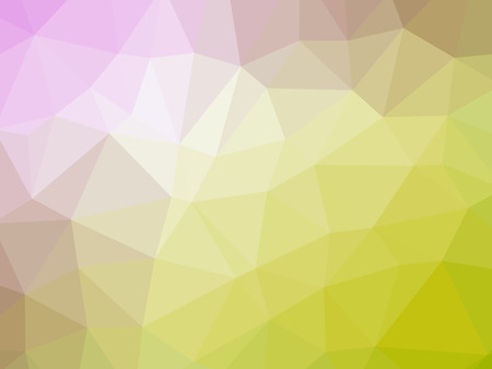 polychromatic: Abstract yellow pink gradient polygon shaped background.