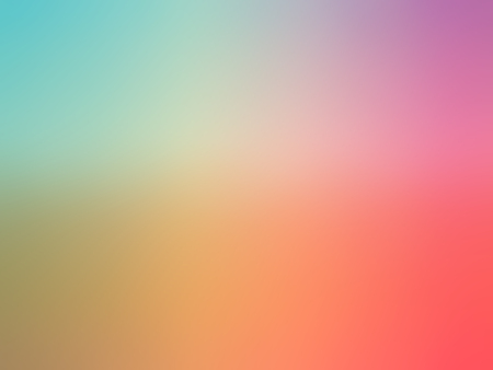 gradient: Abstract gradient rainbow red purple blue yellow colored blurred background.