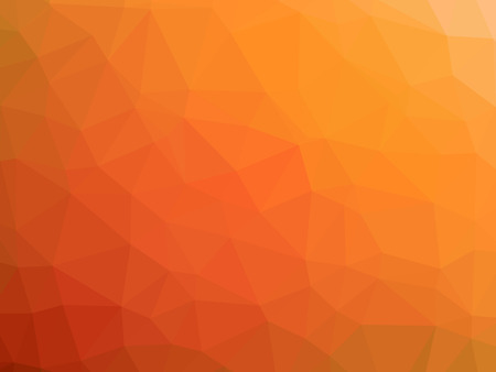 polychromatic: Abstract red orange gradient polygon shaped background. Stock Photo