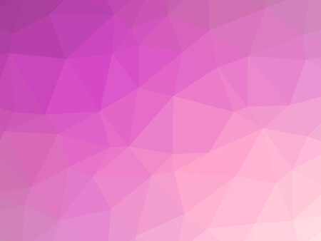 gradient: Abstract pink gradient low polygon shaped background. Stock Photo