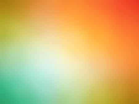 gradient: Abstract gradient rainbow red orange teal colored blurred background. Stock Photo