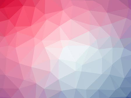 Rainbow pink blue abstract gradient polygon shaped background. Reklamní fotografie - 62797471