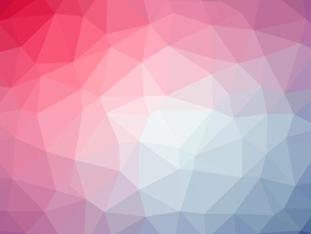 Regenboog roze blauw abstract gradient veelhoek vorm achtergrond.