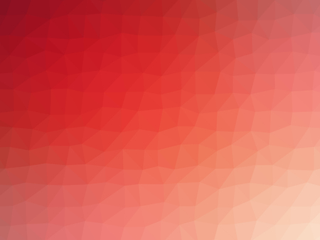 red wallpaper: Red white gradient abstract polygon shaped background. Stock Photo