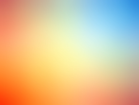 gradient: Abstract gradient rainbow red orange blue colored blurred background.