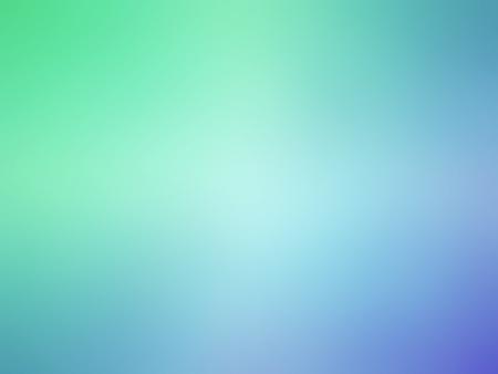抽象的なグラデーション青緑色の背景をぼかし。