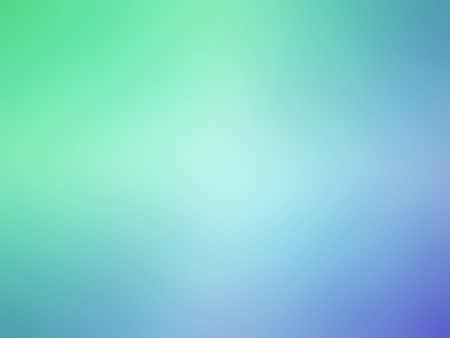Abstract gradient green blue colored blurred background. Imagens