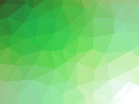 jade: Green white gradient abstract polygon shaped background.