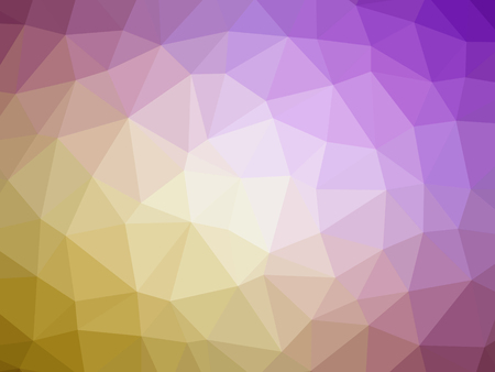 polychromatic: Abstract yellow purple pink gradient polygon shaped background.