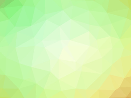 green yellow: Abstract green yellow gradient polygon shaped background.