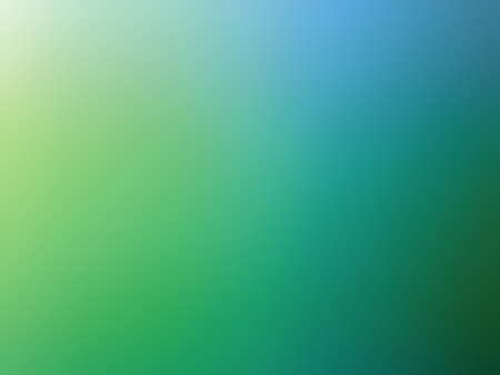 blue green background: Abstract gradient green blue colored blurred background. Stock Photo