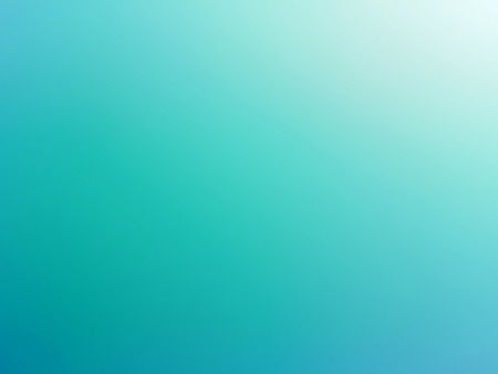 smooth background: Abstract gradient turquoise blue teal white colored blurred background Stock Photo