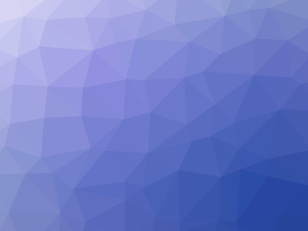 Abstract purple blue gradient low polygon shaped background.