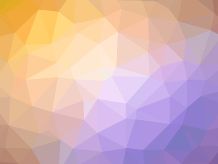 Abstract orange purple gradient polygon shaped background. 版權商用圖片