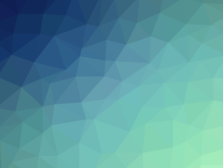 Abstract blue teal gradient polygon shaped background. 版權商用圖片