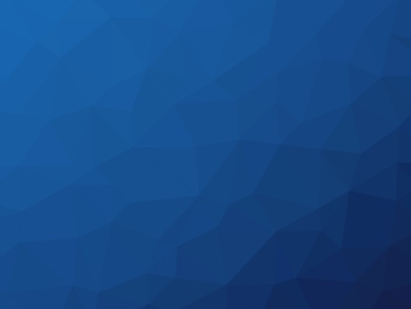 Dark blue gradient polygon shaped graphic background.