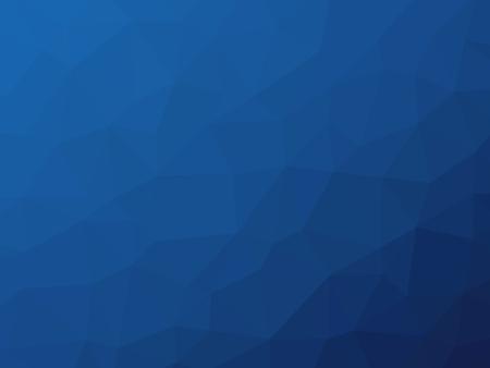 Dark blue gradient polygon shaped graphic background.