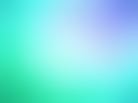 Abstract gradient green blue colored blurred background. Banque d'images
