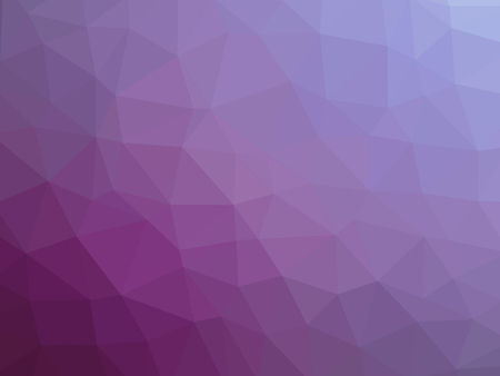 Purple blue gradient low polygon shaped background. 版權商用圖片