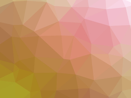 Abstract yellow purple pink gradient polygon shaped background.