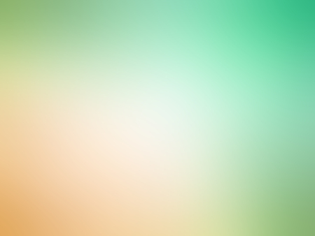 Abstract gradient orange green colored blurred background.