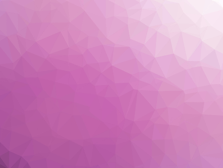 Abstract pink gradient low polygon shaped background. Banque d'images