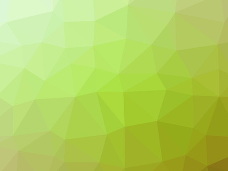 Green gradient abstract polygon shaped background.
