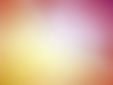 Abstract gradient orange yellow pink colored blurred background. Banque d'images
