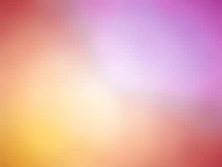 Abstract gradient pink orange colored blurred background.