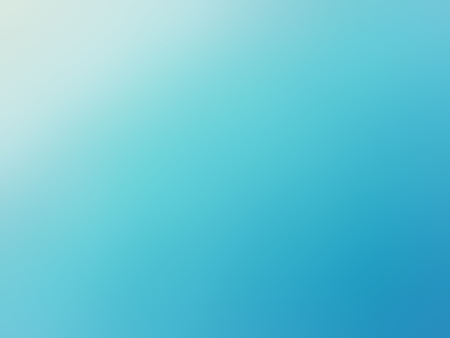 Abstract gradient turquoise white colored blurred background.