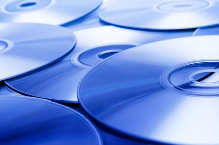 recordable: Disc Texture (Blue)